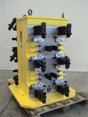 HORIZONTAL 4 AXIS MACHINE TOOLING FIXTURE