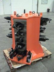 STEEL CRANKSHAFT MACHINE TOOLING FIXTURE.