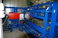 Ball screws induction hardening warming machine